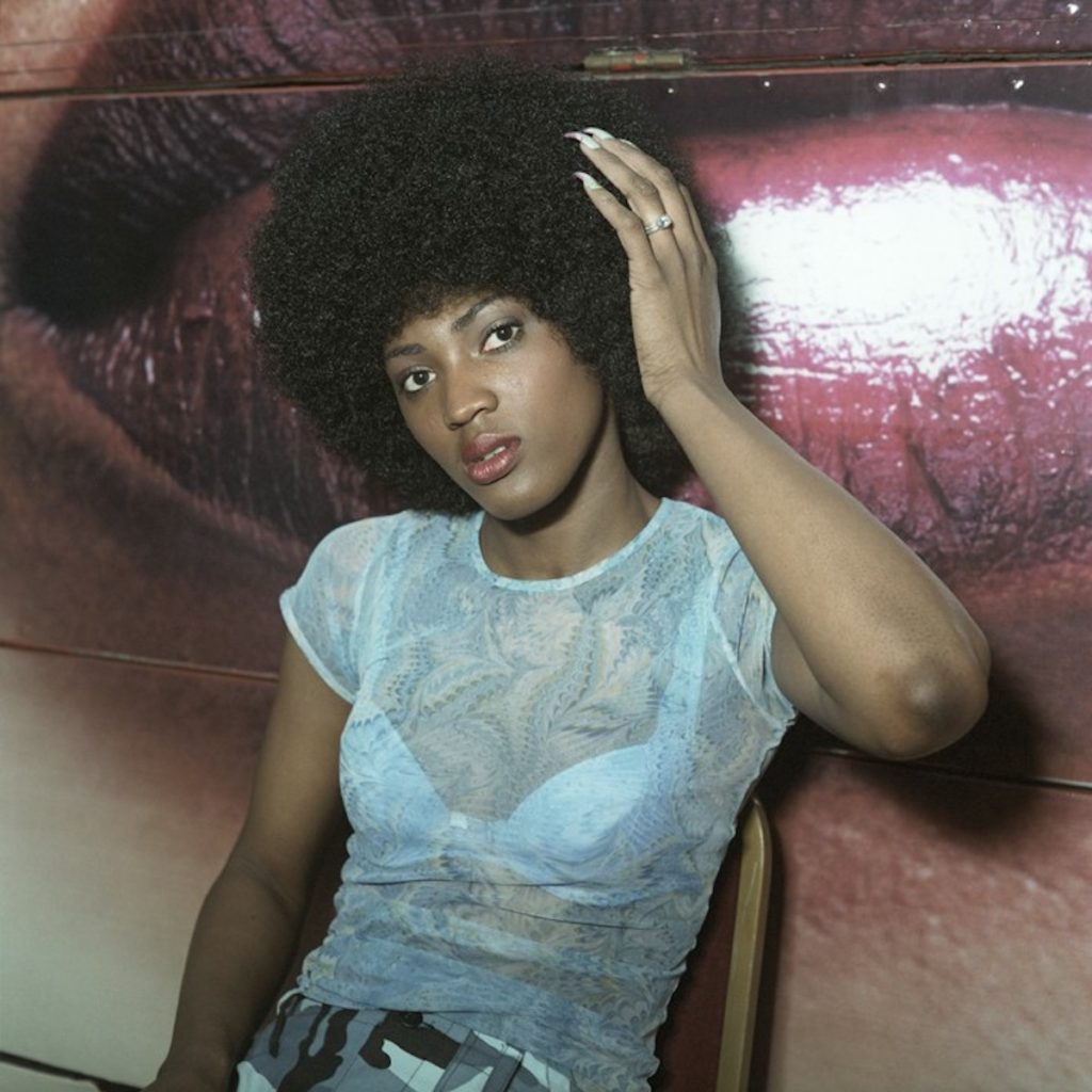 "Untitled- Afro Hair and Beauty Show 1998 ed. 1/10 Archival C-type, 20x24"" © Eileen Perrier / Courtesy of Autograph ABP, London. Supported by the National Lottery through the Heritage Lottery Fund."