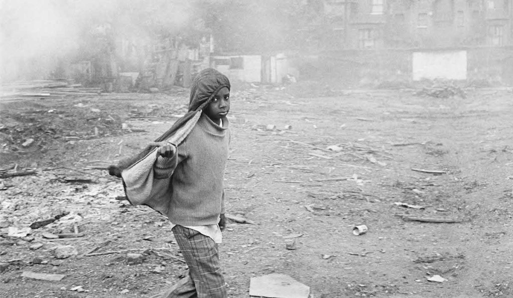 """Brother Can you Spare some Change, 1976. Fibre-based silver gelatin print, 16x20"""". © Dennis Morris / Courtesy of Autograph ABP, London. Supported by the National Lottery through the Heritage Lottery Fund."""