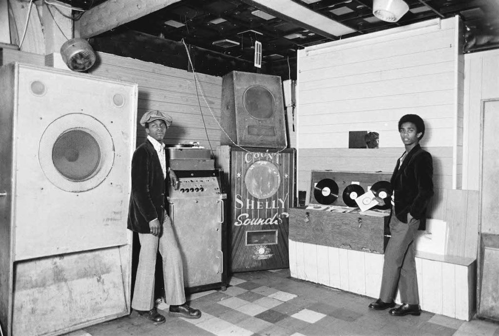 """Count Shelley Sounds, Hackney, 1971. Fibre-based silver gelatin print, 16x20"""".© Dennis Morris / Courtesy of Autograph ABP, London. Supported by the National Lottery through the Heritage Lottery Fund."""