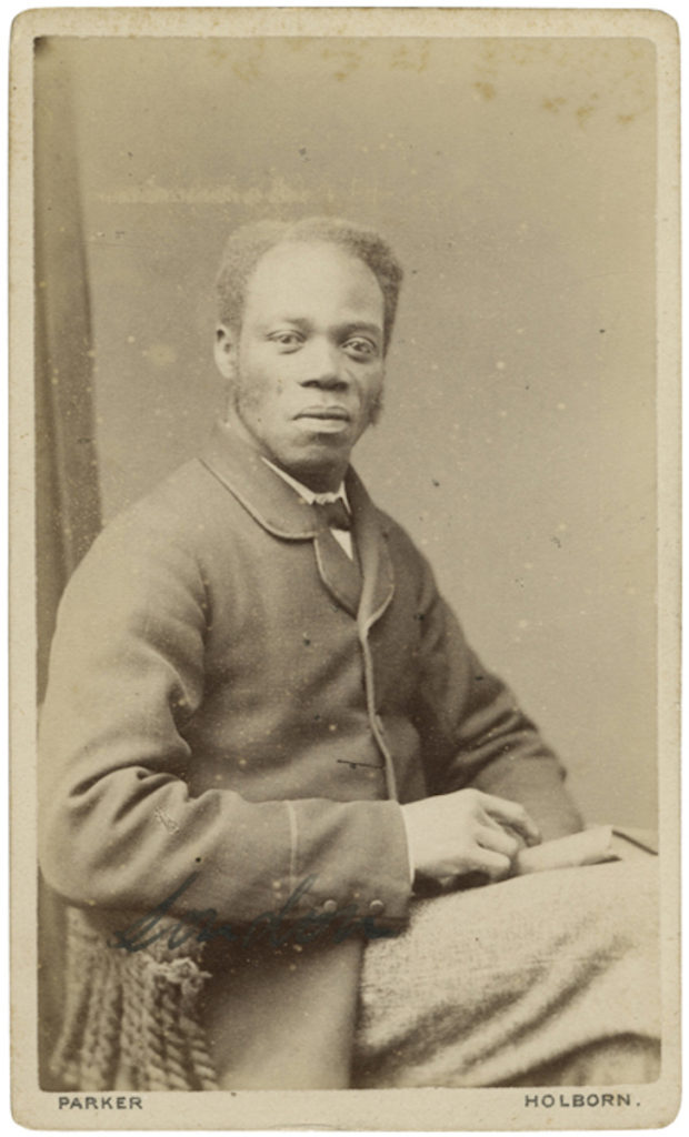 <strong> Unidentified Sitter. London, 1870s. Photograph by W.G. Parker. </strong><br></br>Courtesy of Autograph ABP. Supported by the National Lottery through the Heritage Lottery Fund.<br></br>Details regarding the sitter's identity remain unknown at this stage. <br></br>Albumen carte-de-visite,  64x100mm.