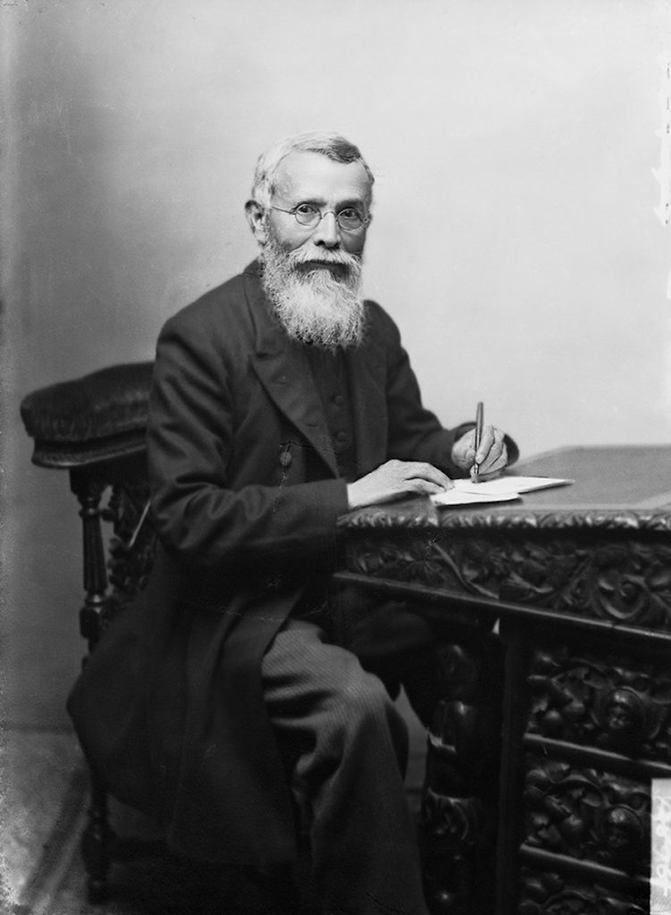 <strong>Dadabhai Naoroji. London, 1892. <br>By London Stereoscopic Company, published by R.M. Richardson & Co.     </strong>   <br></br>  © Hulton Archive/Getty Images. Courtesy of Hulton Archive, and Autograph ABP, London. Supported by the National Lottery through the Heritage Lottery Fund. <br></br>  Dadabhai Naoroji (1825–1917) was a scholar, social leader and politician. He was the first Indian MP to be elected to the House of Commons, as Liberal Party MP for Finsbury Central in London in 1892. Born near Mumbai, the son of a Parsi priest, he was educated at Elphinstone College where he became the first Indian professor of mathematics and natural philosophy. He was professor of Gujurati at University College London in 1855, and campaigned to open the Indian Civil Service to Indians and formulated the 'drain theory', outlining how British rule drained the financial resources of India. A respected figure in British political life at the end of the 19th century, he fiancially supported and helped organise the Pan-African Conference in 1900. <br></br>  Fibre-based silver gelatin print, 20x24""