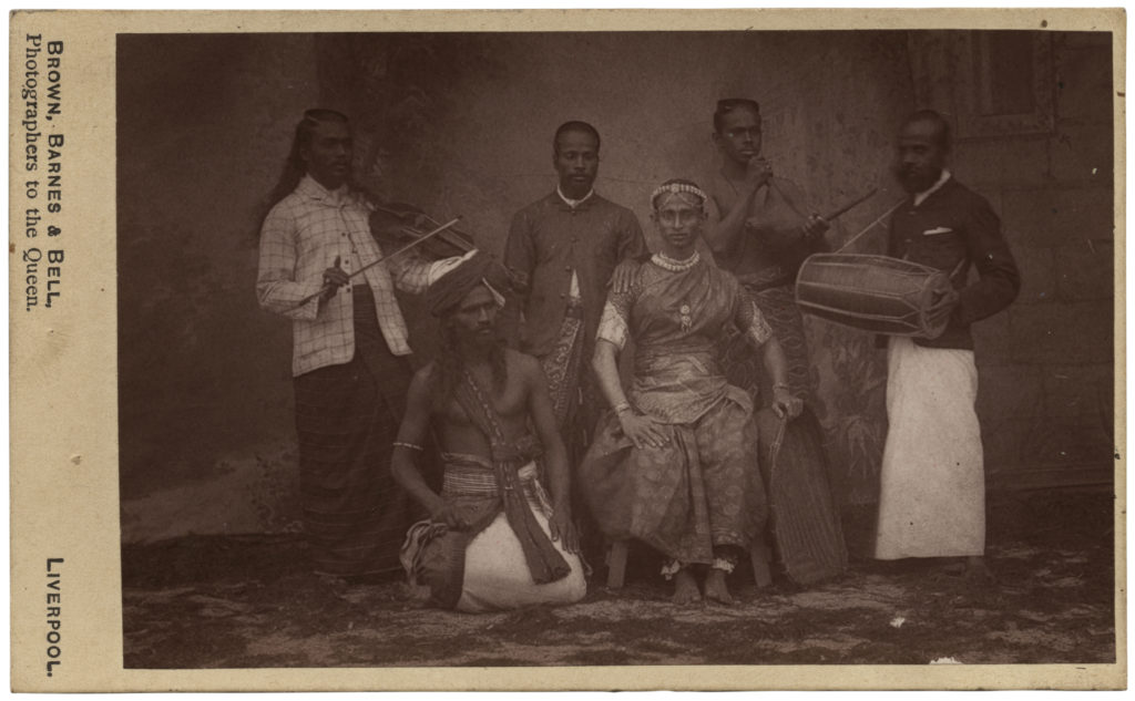 <strong> Unidentified Sitters. Liverpool, circa 1870s. Photograph by Brown, Barnes & Bell. </strong><br></br>Courtesy of Autograph ABP. Supported by the National Lottery through the Heritage Lottery Fund.<br></br>Stereocard, 87x176mm