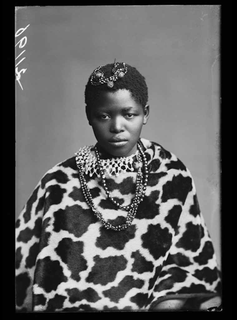 <strong>Katie Manye, The African Choir. London, 1891 <br>By the London Stereoscopic Company.   </strong>   <br></br>  © Hulton Archive/Getty Images. Courtesy of Hulton Archive, and Autograph ABP, London. Supported by the National Lottery through the Heritage Lottery Fund. <br></br>  Katie Manye (1873 – 1956), later known as  Katie Makanya, came to England in 1891, as one of the youngest members of the African Choir. She dedicated her life to medicine, nursing, and the well-being of black South Africans, working under the English doctor and missionary James McCord. In 1995 her memoir was published by McCord's daughter, Margaret McCord, as 'The Calling of Katie Makanya'. Written as an oral testimony that spans from the late nineteenth century into the apartheid years, the biography includes her travels to England, Katie's introduction to Queen Victoria, and her return to South Africa in 1893.                                          <br></br>  Fibre-based silver gelatin print, 20x24""