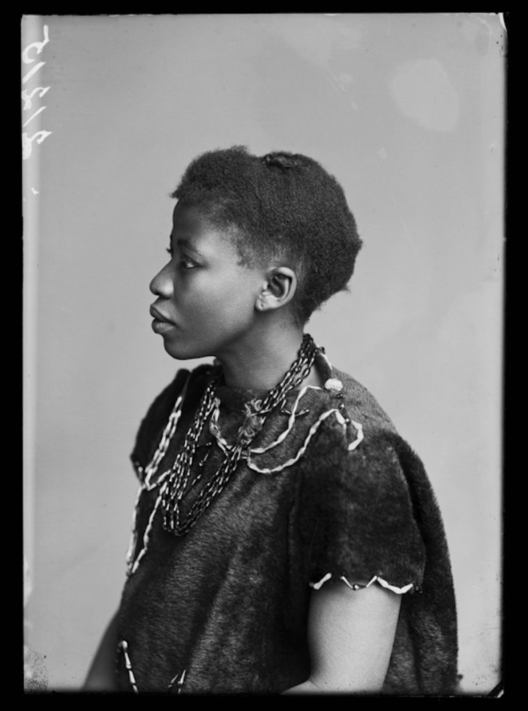 <strong>Johanna Jonkers, The African Choir. London, 1891. <br>By the London Stereoscopic Company.   </strong>   <br></br>  © Hulton Archive/Getty Images. Courtesy of Hulton Archive, and Autograph ABP, London. Supported by the National Lottery through the Heritage Lottery Fund. <br></br>   Johanna Jonkers was a member of The African Choir,  and performed for HM Queen Victoria. Little else is currently known about her, except that she was of Zulu descent and born in Burgersdorp, in the Eastern Cape province of South Africa.